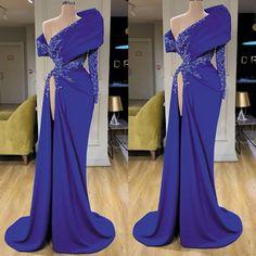 Long Sleeve Evening Dresses, Blue Evening Dresses, Mermaid Evening Dresses, Evening Gowns, Royal Blue Evening Dress, Strapless Dress Formal, Prom Dresses, Off Shoulder Gown, Formal Dresses For Women