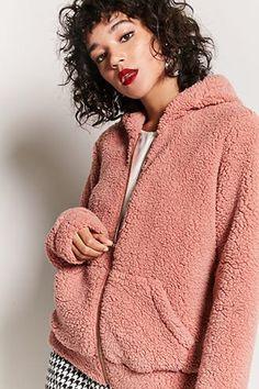 Faux Shearling Hooded Jacket Jetzt bestellen unter: https://mode.ladendirekt.de/damen/bekleidung/jacken/sonstige-jacken/?uid=eba69337-7a61-50e0-b9d7-c41c0650fa45&utm_source=pinterest&utm_medium=pin&utm_campaign=boards #women's #accessories #clothing #outerwear #sonstigejacken #bekleidung #jacken