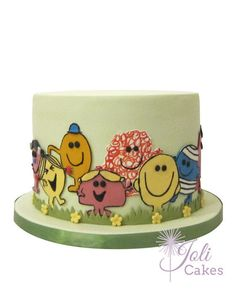 Created for Mr Men & Little Miss themed 1st birthday party.