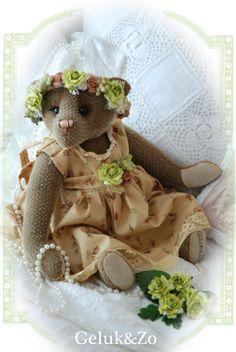 Pattern for making flower bear blossom sewing pattern by GelukenZo