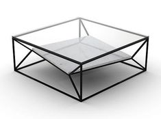 Coffee Table (Base only, glass can be ordered separately) from Niche London Arvo Coffee Table White-Metal shelf (same colour as frame) by Niche LondonArvo Coffee Table White-Metal shelf (same colour as frame) by Niche London Welded Furniture, Iron Furniture, Steel Furniture, Unique Furniture, Furniture Design, Industrial Furniture, Outdoor Furniture, Coffee Table Base, Coffee Table Design