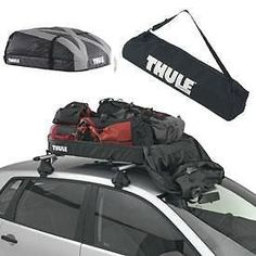 Brand New Genuine Thule Ranger 90 Car Roof Carrier, Folding Roof Box Roof Rail in Vehicle Parts & Accessories, Car Accessories, Touring & Travel | eBay!