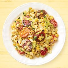 Grilled Sweet Corn, Cabbage & Tomato Salad - Wegmans