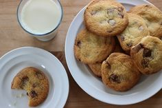 Gluten Free Chocolate Chip Cookies Gluten Free Chocolate Chip Cookies, Sweet Treats, Muffin, Chips, Sugar, Breakfast, Food, Morning Coffee, Sweets