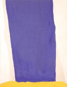 Helen Frankenthaler, Blue Fall, 1966