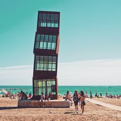 La Barceloneta, Barcelona (Spain)