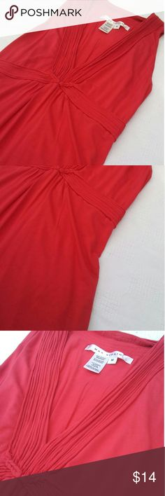 New Listing Max Studio Top Crafty design around the neck and down the middle and around to the back!! Light weight top!! Great quality material!! Would come passed the hip area!! Great Condition!! Bundle and save!!  92%Viscose 8%Spandex Max Studio Tops
