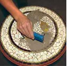 Home-Dzine - How to mosaic a table top