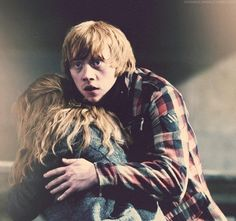 Ron weasley and hermione granger ron and hermione kiss - Harry potter hermione granger real name ...