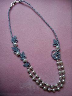 náhrdelník listy di Sabrina