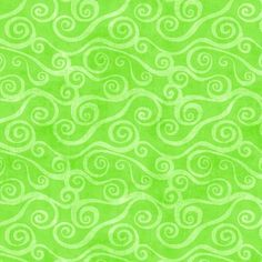Wilmington Prints Essential 108 Inch Quilt Back Swirly Scroll Cotton Flannel Lime