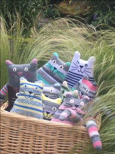 All available on our Etsy. Knitted Cat, Knitted Animals, Hand Knitting, Knitting Patterns, Nursery Décor, Spare Room, Dog Design, Handmade Toys, Foxes