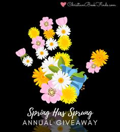 Spring Has Sprung Annual Giveaway 2021 | Christian Book Finds Free Christian Books, Artificial Peonies, Welcome Spring, Happy Reading, Spring Has Sprung, Love Is Free, Amazon Gifts, Love Book, Giveaways