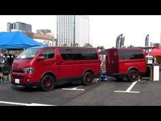 HIACE Custom car camping trailer house