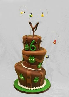 Angry Birds By MacsMom on CakeCentral.com