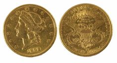 Collectable Gold Coins in our Upcoming Auction; featuring lot 325, this USA gold $20 from 1882, marked S for San Francisco, estimated £760 - £840.  READ THE POST HERE: http://afbrock-auctioneers.blogspot.co.uk/2013/11/collectable-gold-coins-in-our-upcoming.html  afbrock-auctioneers.blogspot.co.uk