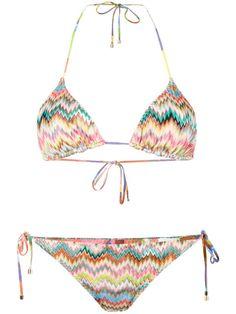 MISSONI Mare Zig-Zag Triangle Bikini. #missoni #cloth #bikini