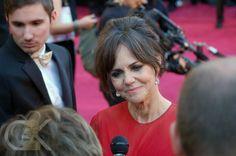 Looking good, Sally! #oscars #redcarpet