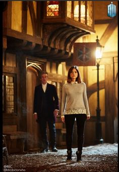 """Face the Raven"" promo pics Good News: Rigsy (Joivan Wade, ""Flatline"") and Ashildr (Maisie Williams) are back. Bad News: This may be Clara's last adventure."