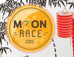 Moon Race event branding. Check this out also on my Portfolio http://on.be.net/1HZVHID