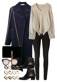 """""""Untitled #10413"""" by nikka-phillips ❤ liked on Polyvore featuring Marni, ASOS, J Brand, Gucci, Dolce&Gabbana and Yves Saint Laurent"""