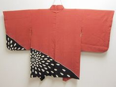 Bargain Auctions!! 06a4988 Vtg Japanese Kimono Haori Jacket with Shibori Silk