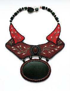 Beautiful embroidered jewelry by Nella Moskvicheva   Beads Magic