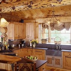 Complete your rustic #kitchen design with #VT Industries premium edge profiles www.vtindustries.com