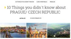 Hello travelers! Here are some things you didn´t know about PRAGUE!  #traveling #prague #czechia #czechrepublic #10things #funfacts #europe  http://see-places.blogspot.fr/2018/02/10-things-you-didnt-know-about-prague.html