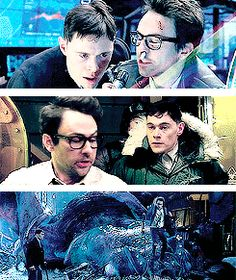 my gifs HAHAHA oh well pacific rim science boyfriends i like the quote newmann hermann gottlieb newton geiszler take it upon yourselves to add a witty quote or comment i