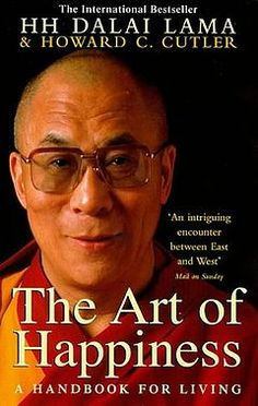 The Art of Happiness ^ ◡ ^  the most interesting thing about this book--apart from the Dali Lama really clearly explaining the teachings of Buddhism and how to live by it-- is that it is authored also by a psychological counselor, who analyzes his private meetings with the Dali Lama into case study practices.