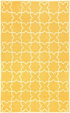 Trans Ocean Capri Outdoor Moroccan Tile Yellow Rug. 10% Off on Trans Ocean Rugs! Area rug, carpet, design, style, home decor, interior design, pattern, trend, statement, summer, cozy, sale, discount, free shipping.
