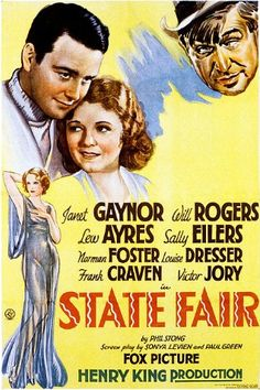 State Fair (1933 film) starring Janet Gaynor, Will Rogers, Lew Ayers and Sally Eilers