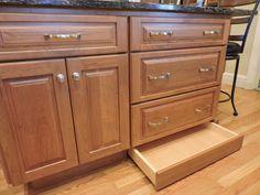 hidden toe kick drawer