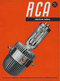 By Ladislav Sutnar, 1943, RCA Electron Tubes, Radio Corporation of America, USA.