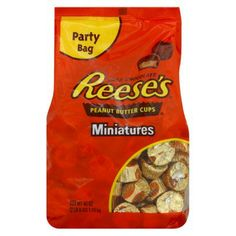 I'm learning all about HERSHEY Reese's Miniatures Peanut Butter Cups 40 oz at @Influenster!