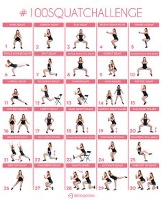 What if we did 100 squats everyday for a month? – Blogilates