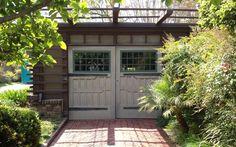 The garage at the Cordelia A. Culbertson House, 1913 - Pasadena