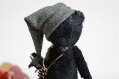 AND ANOTHER HEART STEALER!!!  So Cute! Christmas Teddy Bear Leonty  Stuffed Bear  Pocket by annapavlovna