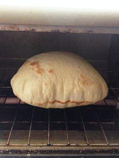 簡単ピタパンの生地(オーブントースター)