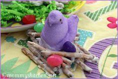 Easter Peep Nests