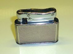 COLIBRI MONOPOL AUTOMATIC LIGHTER W. 925 STERLING SILVER CASE - 1952 - ENGLAND Sammeln & Seltenes:Tabak, Feuerzeuge & Pfeifen:Feuerzeuge:Alt (vor 1970)