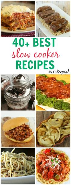 40+ Best Crock Pot Recipes - It Is a Keeper