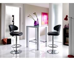 2er Set Tabourets De Bar Tabouret Lounge Chaise De Cuisine Tabourets De Bar Chaise Gesteppt Marron