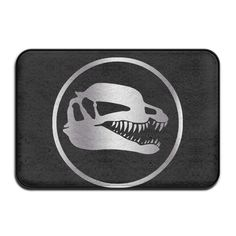Non-slip Jurassic Park Platinum Logo 40*60cm Doormat Oxjwn >>> Find out more details by clicking the image : home diy garden