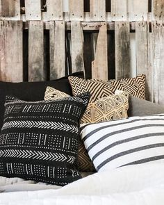 Village - Tribal Twilight Did you miss our previous post where we set up an urban bedroom setting? This combination of tribal cushions really brought the room together. Explore these products online Tribal Theme, Tribal Decor, African Interior, African Home Decor, Tribal Bedroom, African Bedroom, Succulent Garden Diy Indoor, Vibeke Design, Interior Styling