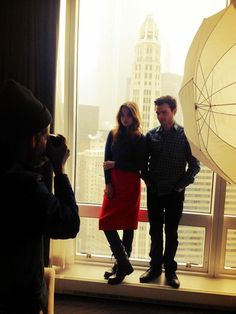 Alice and Alden's photo shoot for RedEye Chicago.