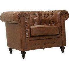 Arlington Tufted Arm Chair