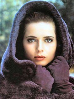 Isabella Rossellini - many will disagree, but I think she is far prettier than her mother.  Even as a young woman, Ingrid always seemed old to me.