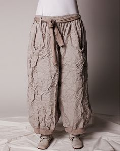 ewa i walla - baggy cotton trousers
